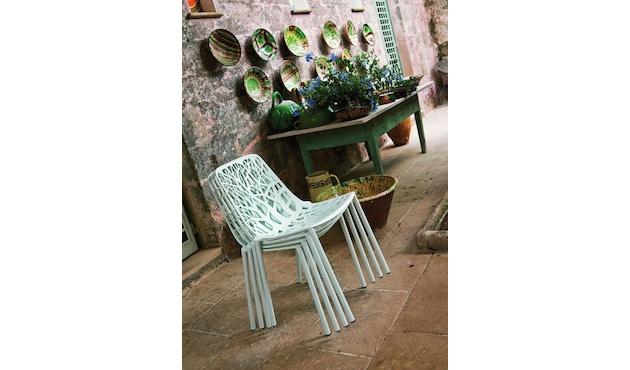 Fast - Chaise de jardin Forest - gris clair - 7