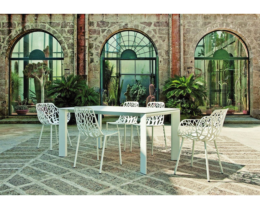 Fast - Grande Arche tafel - grijs-metallic - 10