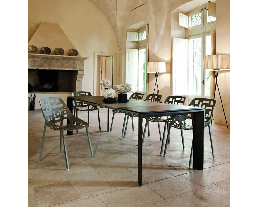 Fast - Grande Arche tafel - grijs-metallic - 15