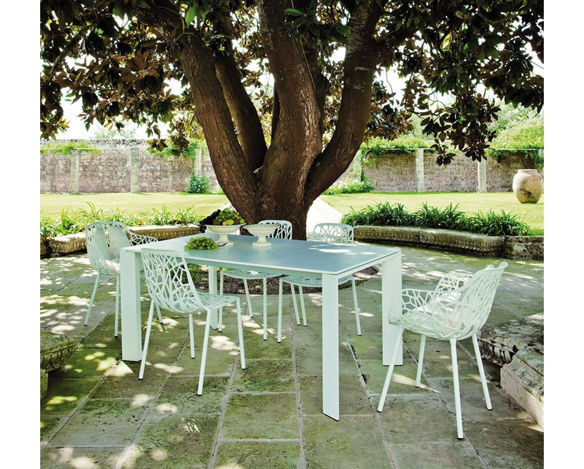 Fast - Grande Arche Tisch M - ausziehbar - weiß - 9