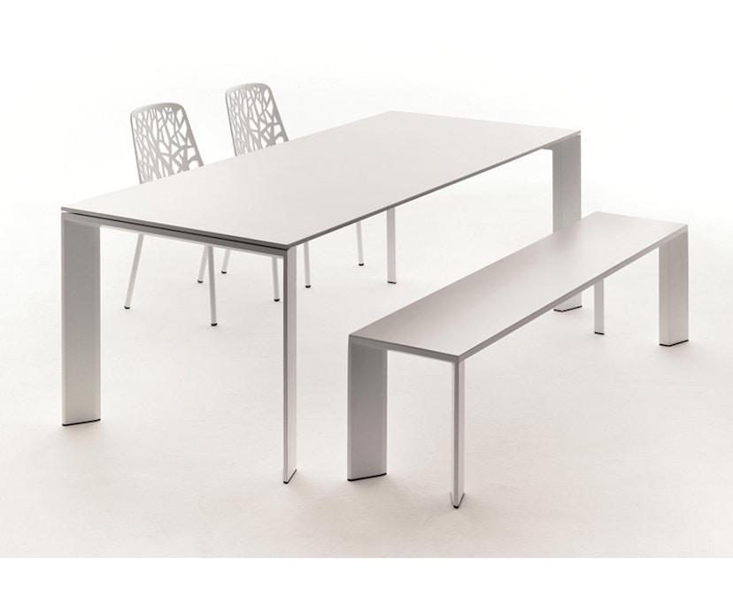 Fast - Grande Arche Tisch M - ausziehbar - weiß - 11