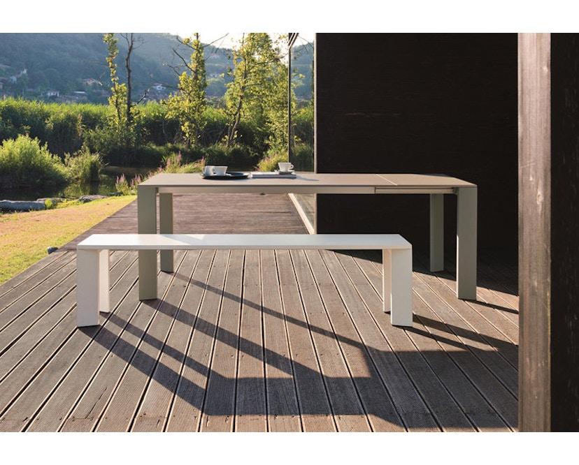 Fast - Grande Arche Tisch M - ausziehbar - weiß - 12