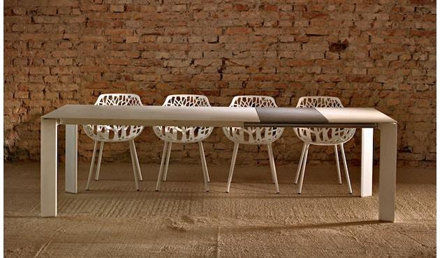 Fast - Grande Arche Tisch M - ausziehbar - weiß - 13