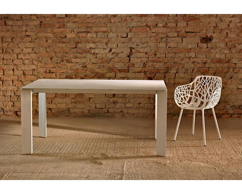 Fast - Grande Arche Tisch M - ausziehbar - weiß - 14