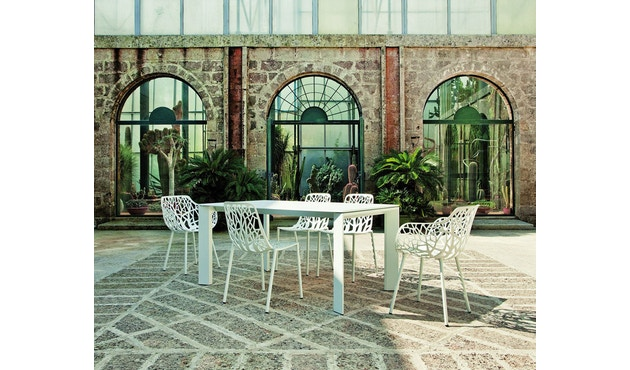 Fast - Grande Arche tafel - wit - 6