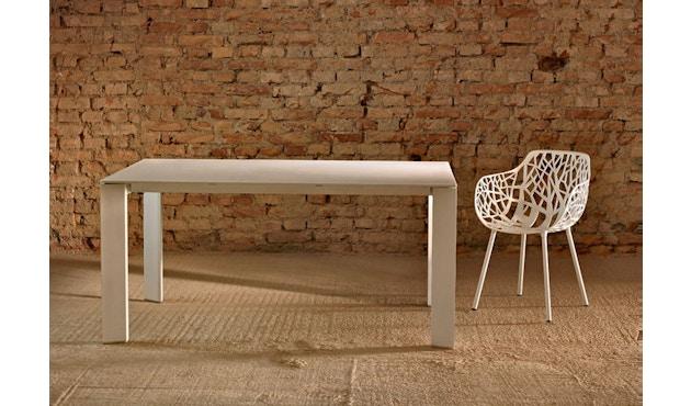 Fast - Table Grande Arche - blanc - 12