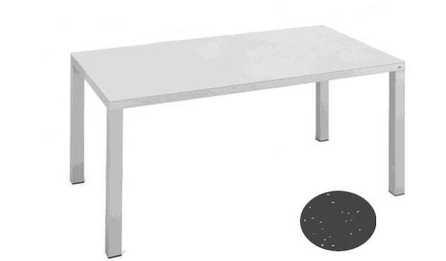 Fast - Easy Tisch - 100 x 220 cm - grau-metallic - 5