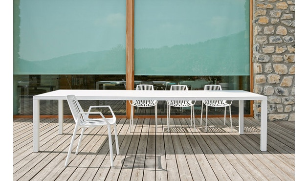 Fast - Easy Tisch - 100 x 220 cm - grau-metallic - 8