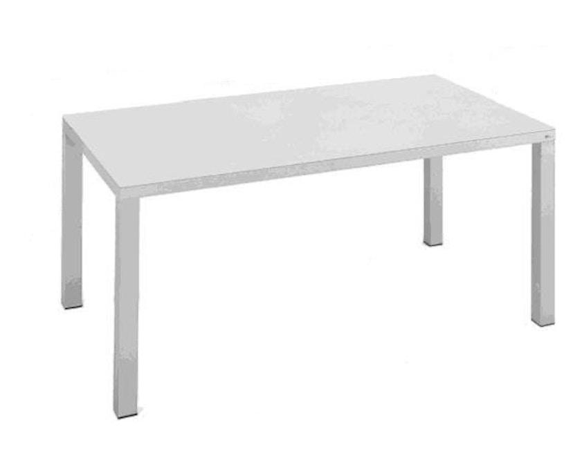 Fast - Easy tafel - 100 - 100 x 220 cm - wit - 1