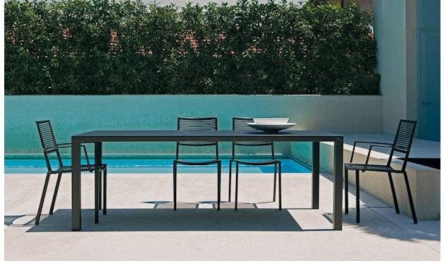 Fast - Easy tafel - 100 - 100 x 220 cm - wit - 3