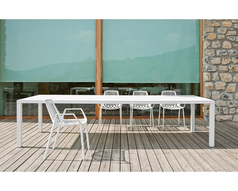 Fast - Easy Tisch - 70 x 140 cm - weiß - 6