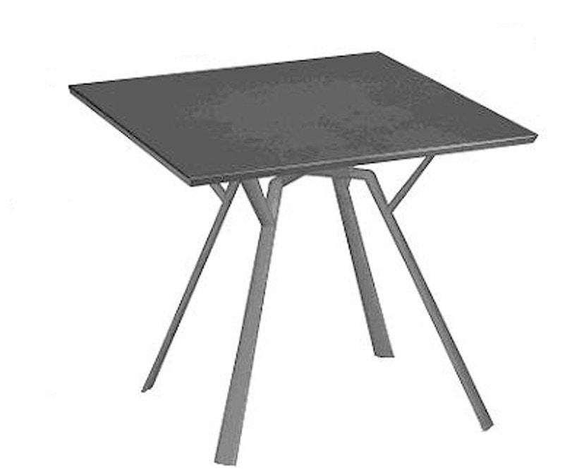 Fast - Radice Quadra tafel - vierkant - grijs-metallic - 90 x 90 cm - 3