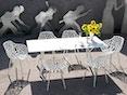Fast - Radice Quadra tafel - vierkant - grijs-metallic - 90 x 90 cm - 5