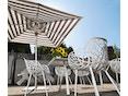 Fast - Radice Quadra tafel - vierkant - grijs-metallic - 90 x 90 cm - 6