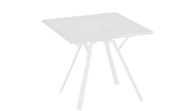 Fast - Radice Quadra tafel - vierkant - wit - 90 x 90 cm - 1