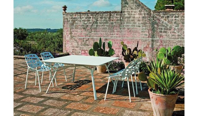 Fast - Radice Quadra tafel - vierkant - wit - 90 x 90 cm - 6