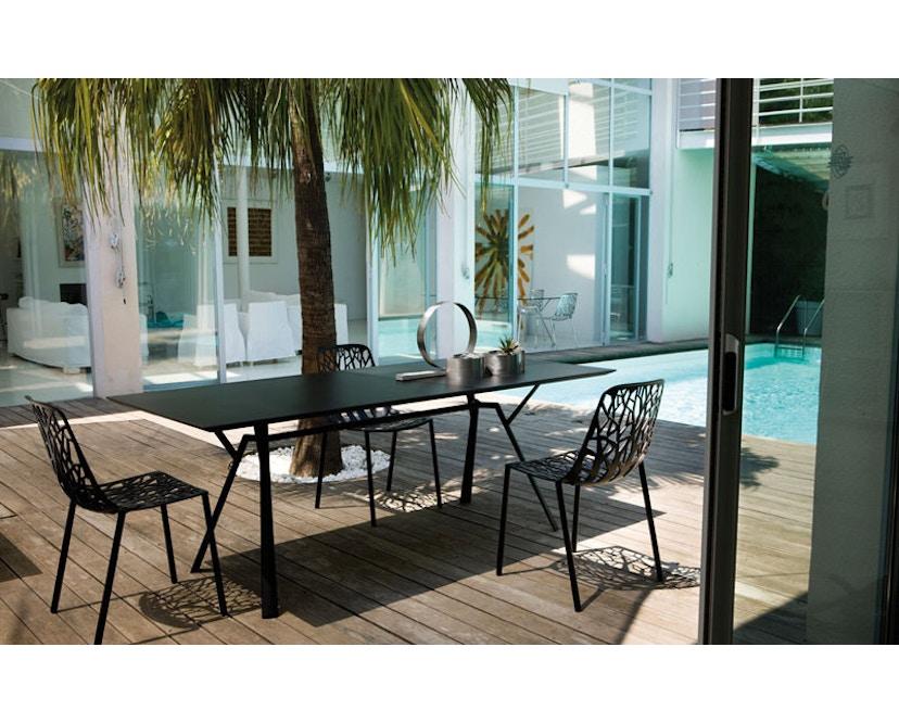 Fast - Radice Quadra tafel - vierkant - wit - 90 x 90 cm - 8