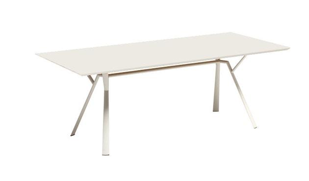 Fast - Radice Quadra Tisch - rechteckig - 150 x 90 - weiß - 6