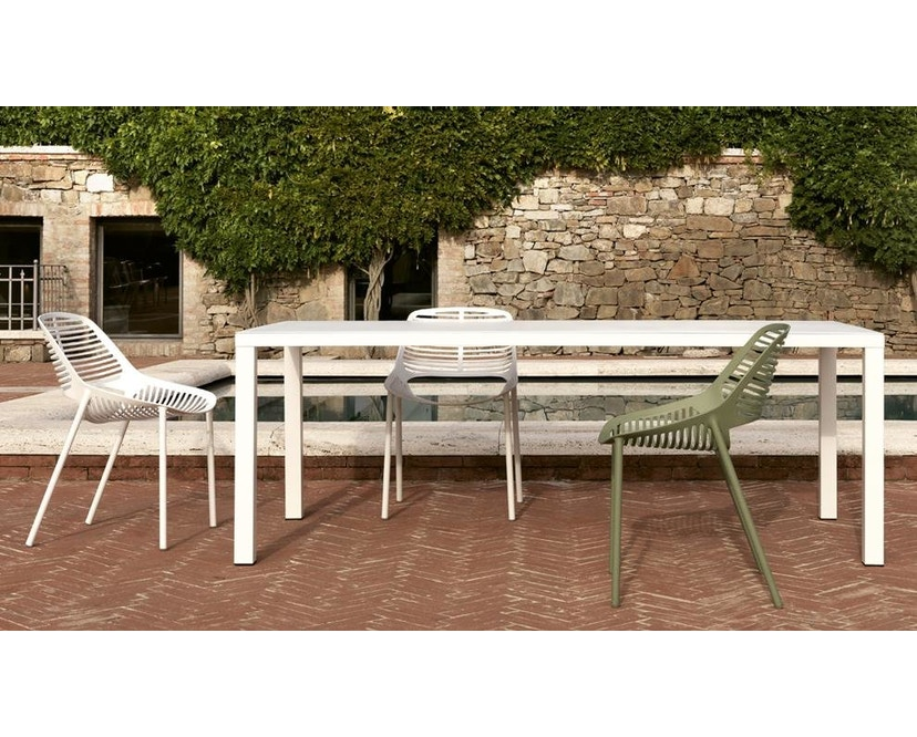 Fast - Niwa Gartenstuhl - weiß - 2