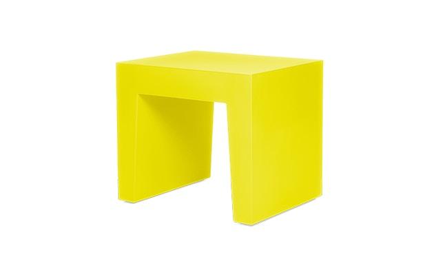 fatboy - Concrete Hocker - Dijon Yellow - 1