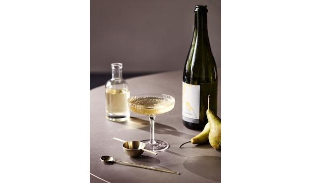 ferm LIVING - Ripple Champagnerschalen - rauchgrau - 7