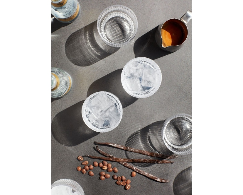 ferm LIVING - Ripple Gläser (4er-Set) - transparent - 10