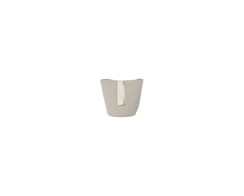 ferm LIVING - Chambray Korb - small - sand - 1