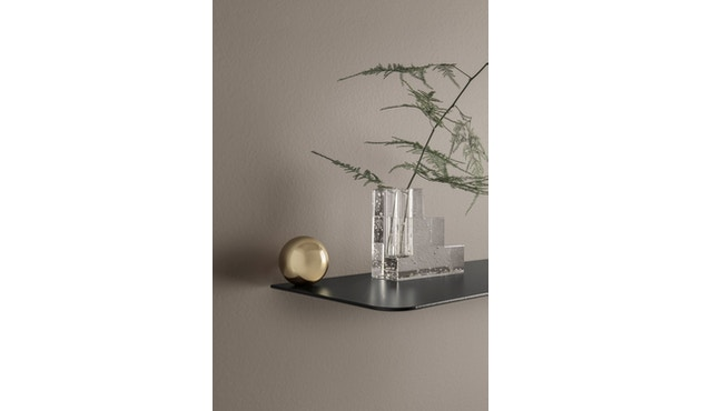 ferm LIVING - Flying Shelf - Zylinder - chrom - 2