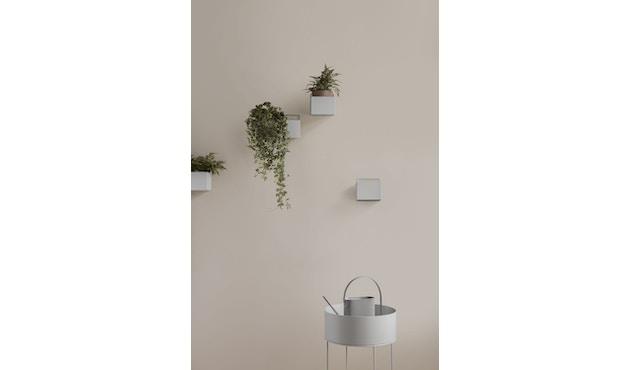 ferm LIVING - Plant Box Zylinder - schwarz - 5