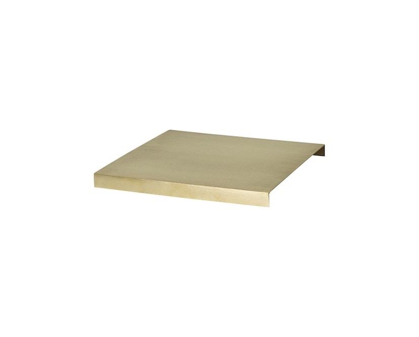 ferm LIVING - Tablett für Plant Box - messing - 1