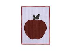 Apfel Kinderdecke gesteppt
