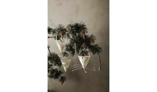 Christmas Papierornamente 3er-Set