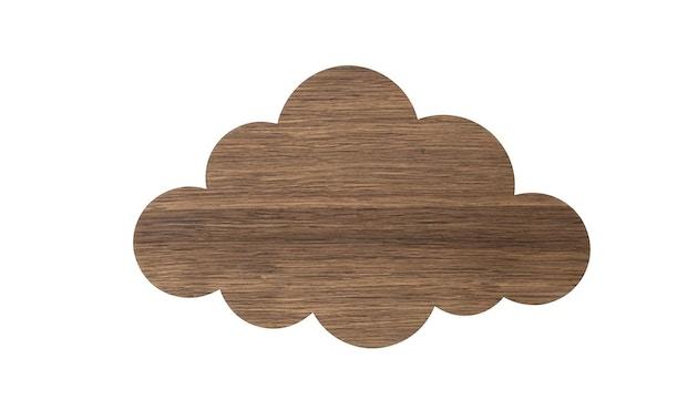 ferm LIVING - Cloud Wandleuchte - geräuchertes Eichenholz - 1