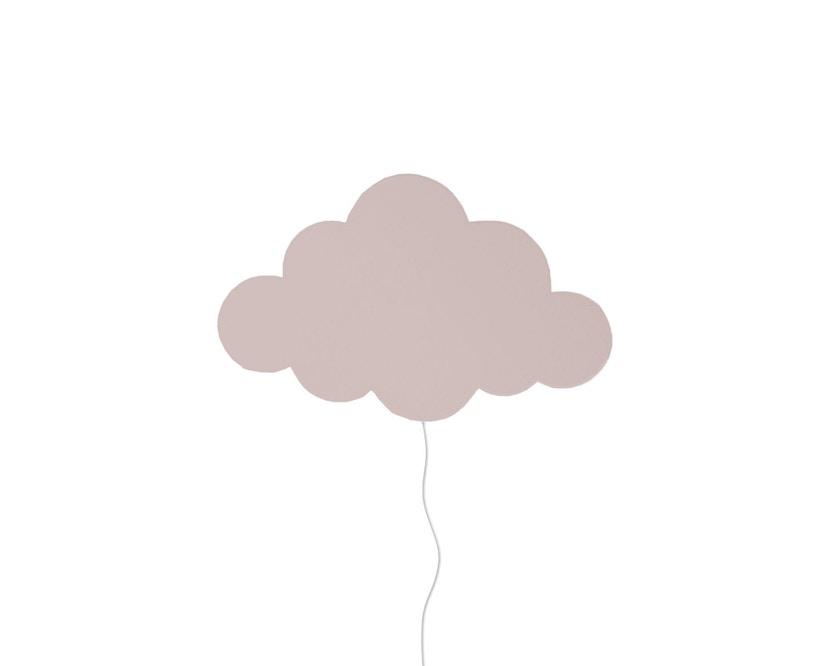 ferm LIVING - Cloud Wandleuchte - altrosa - 0