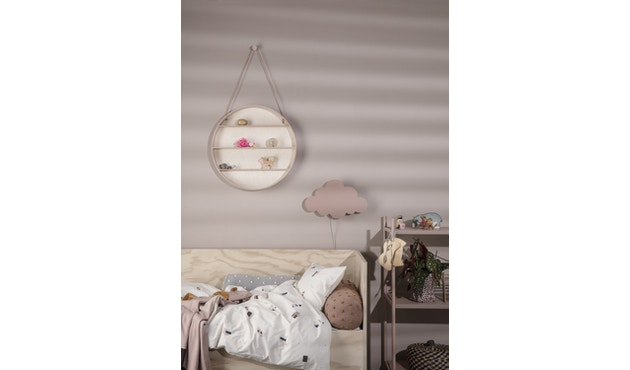ferm LIVING - Cloud Wandleuchte - altrosa - 1