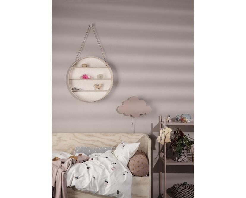 ferm LIVING - Little Stripy Decke - rose - 2