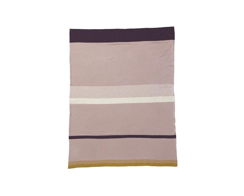 ferm LIVING - Little Stripy Decke - rose - 1