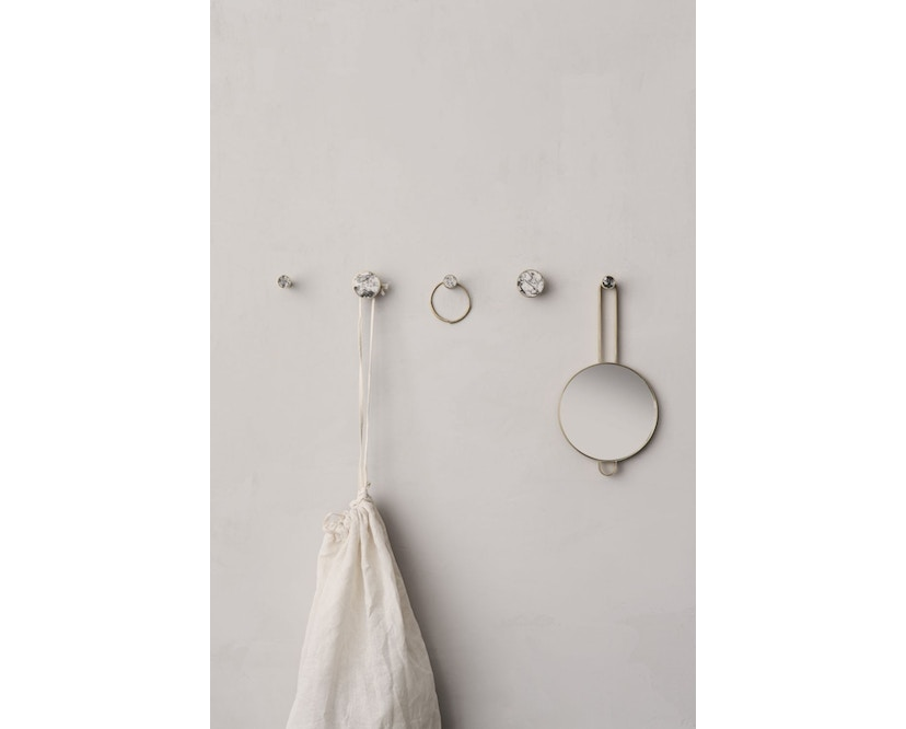 ferm LIVING - Poise Handspiegel - Messing - 3