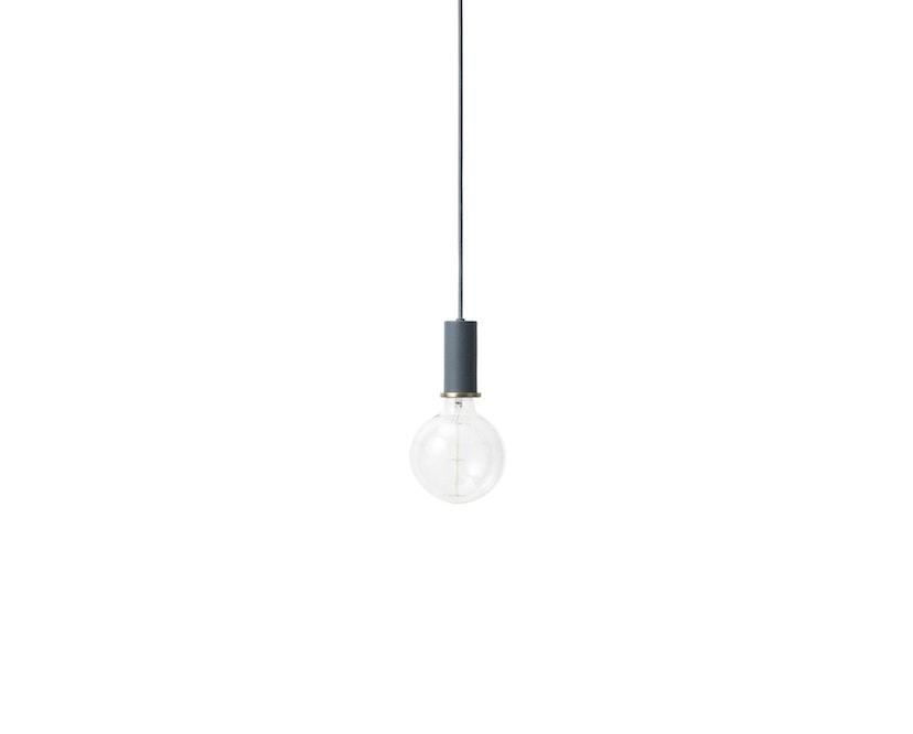 ferm LIVING - Collect Lighting - Socket  - niedrig - dunkelblau - 3