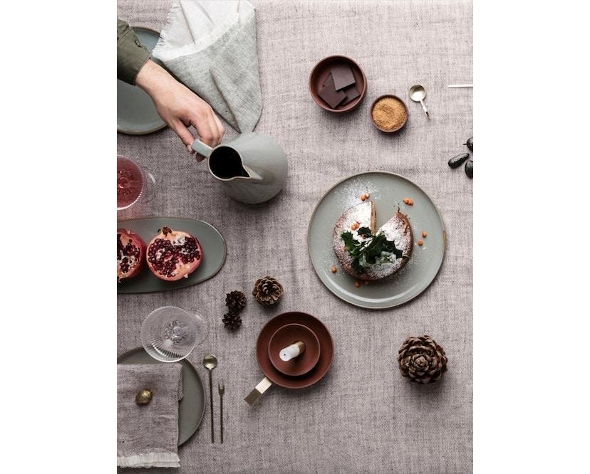 ferm LIVING - Blend Tischdecke - grün - 3