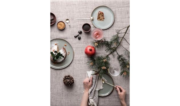 ferm LIVING - Blend Tischdecke - grün - 4