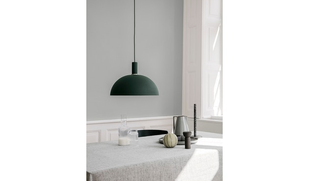 ferm LIVING - Blend Tischdecke - blau - 5