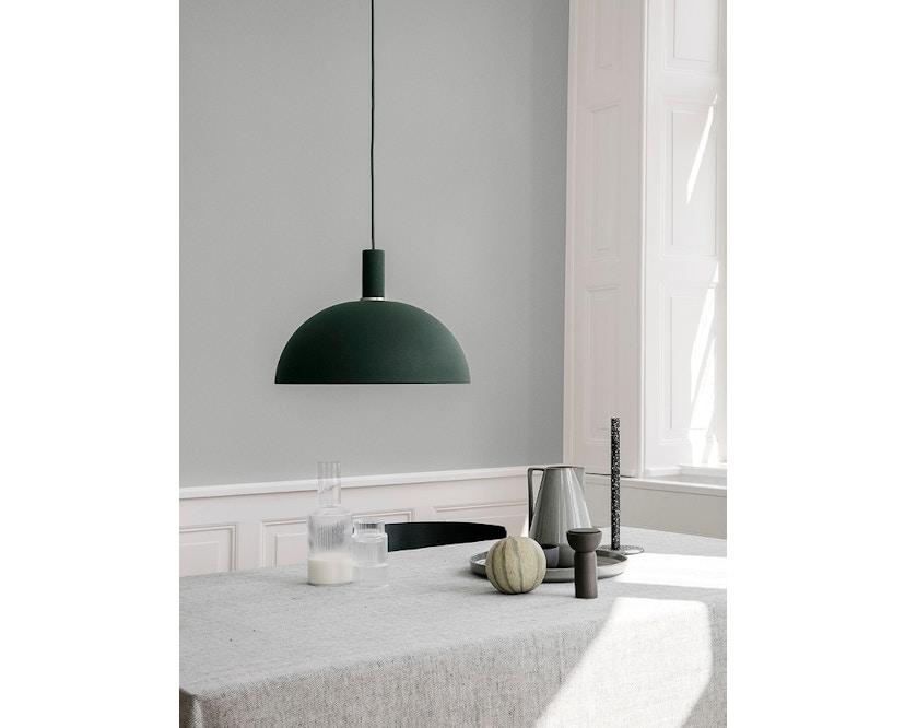ferm LIVING - Blend Tischdecke - grün - 5