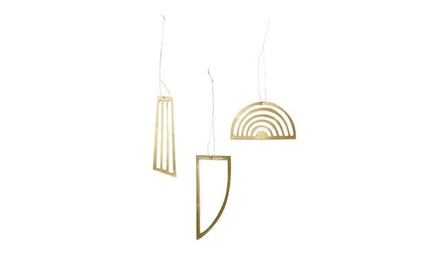 ferm LIVING - Weihnachtsbaumschmuck - Golden Ornaments - 1