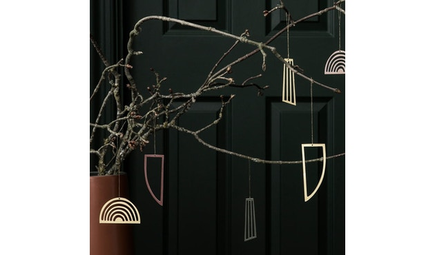 ferm LIVING - Weihnachtsbaumschmuck - Golden Ornaments - 2