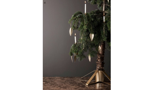 ferm LIVING - Herz Messing Ornament - Weihnachtsbaumschmuck - 2