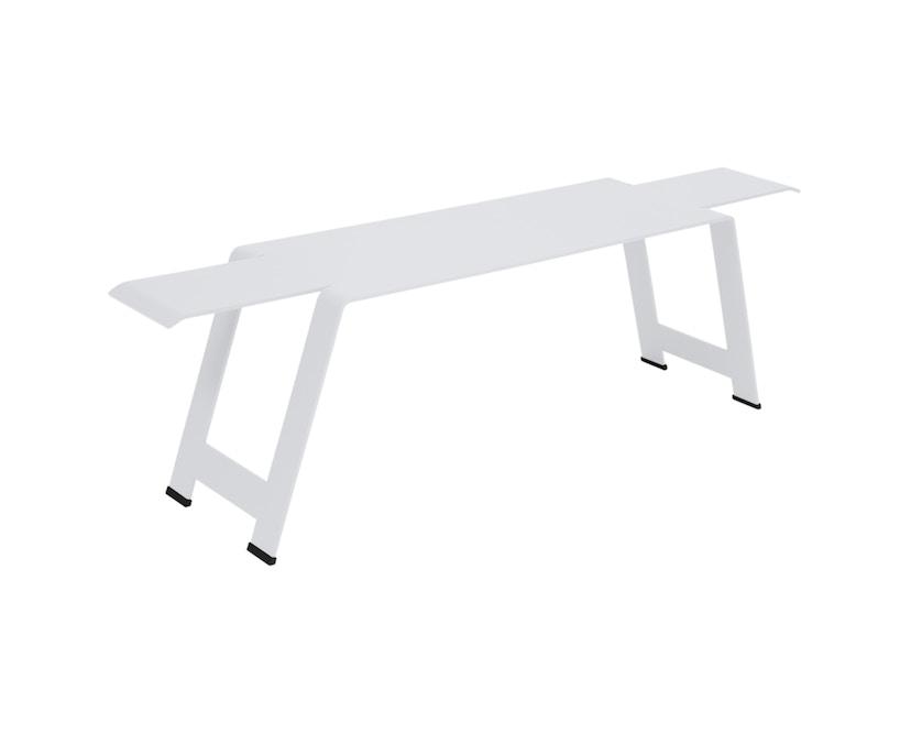 Fermob - Banc Origami  - 01 blanc coton - 0