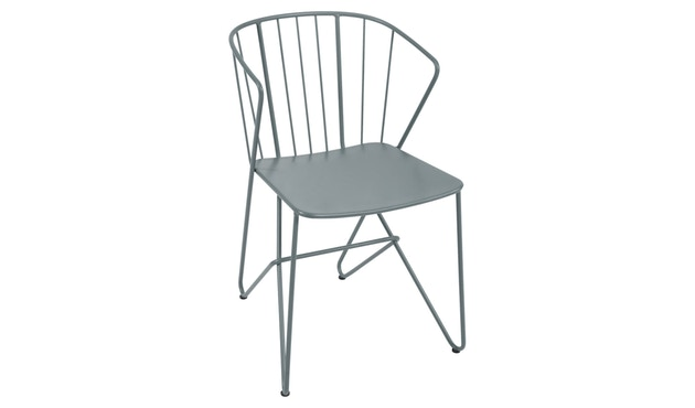 Fermob - Flower Stuhl - 26 Gewittergrau - 1