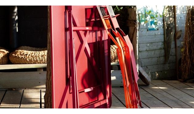 Fermob - CARACTÈRE Klapptisch - Muskat 14 - 128 x 128 cm - 5