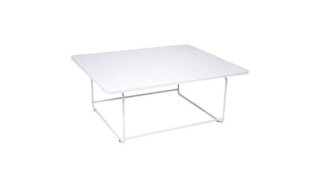 Fermob - ELLIPSE Niedriger Tisch 90 x 110 cm - 01 Baumwolle - 1